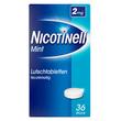 Nicotinell Lutschtabletten 2 mg Mint zuckerfrei*