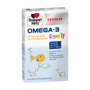 Doppelherz Omega-3 family Gel-Tabs system Kautabletten