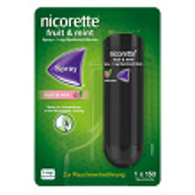 Nicorette Fruit & Mint Spray 1 mg / Sprühstoß*