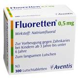 Fluoretten 0,5 mg Tabletten