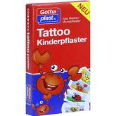 Tattoo Kinderpflaster 25x57 mm