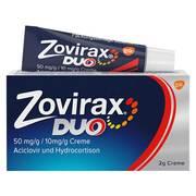 Zovirax Duo 50 mg/g / 10 mg/g Creme*