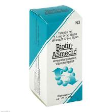 Biotin Asmedic 2,5 mg Tabletten