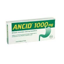 Ancid 1000 mg Kautabletten