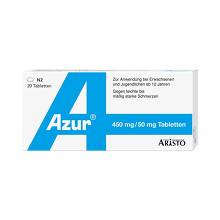 Azur Paracetamol plus Coffein Tabletten
