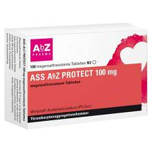 ASS AbZ Protect 100 mg magensaftresistent Tabletten