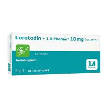 Loratadin 1A Pharma Tabletten