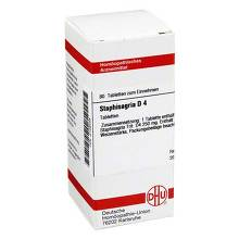 Staphisagria D 4 Tabletten