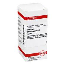 Chininum arsenicosum D 6 Tabletten