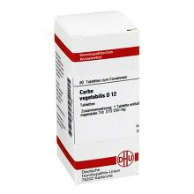 Carbo vegetabilis D 12 Tabletten