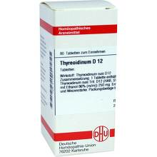 Thyreoidinum D 12 Tabletten