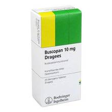 Buscopan 10 mg Dragees