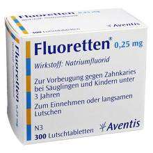 Fluoretten 0,25 mg Tabletten