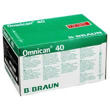 Omnican 40 Ins.kanüle Spr.1ml / 4