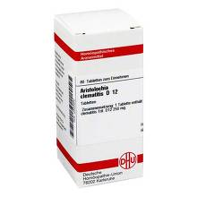 Aristolochia clematitis D 12 Tabletten