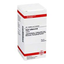 Hepar sulfuris D 30 Tabletten