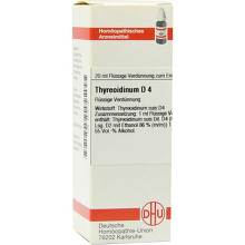 Thyreoidinum D 4 Dilution