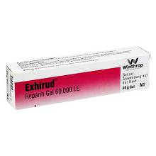 Exhirud Heparin Gel 60.000 I.E.