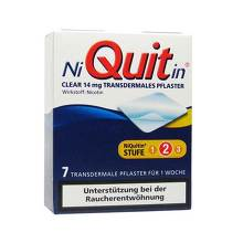 Niquitin Clear 14 mg transdermale Pflaster