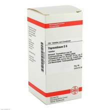 Thyreoidinum D 6 Tabletten