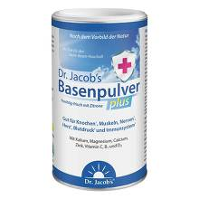 Basenpulver plus Dr. Jacobs