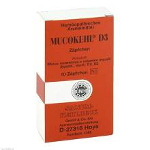 Mucokehl Suppositorien D 3