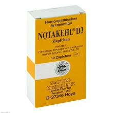 Notakehl D 3 Suppositorien