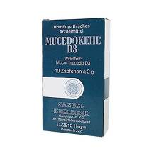 Mucedokehl D 3 Suppositorien