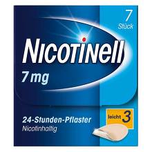 Nicotinell 7 mg 24-Stunden-Pflaster transdermal
