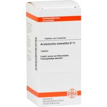 Aristolochia clematitis D 11 Tabletten