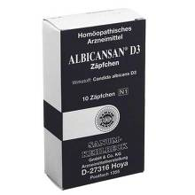 Albicansan D 3 Suppositorien