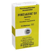 Fortakehl D 3 Suppositorien