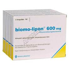 Biomo Lipon 600 mg Ampullen