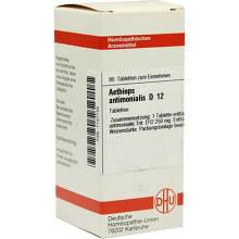 Aethiops antimonialis D 12 Tabletten