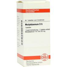 Molybdaenum D 6 Tabletten