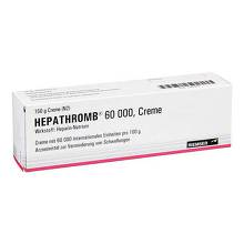 Hepathromb Creme 60.000 I.E.