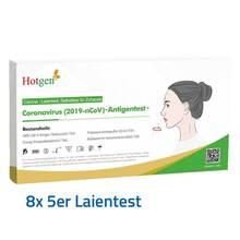 NOVEL 2019-nCoV Corona Antigen Selbsttest Nasentest 10 St.