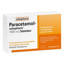 Paracetamol ratiopharm 1000 mg Tabletten