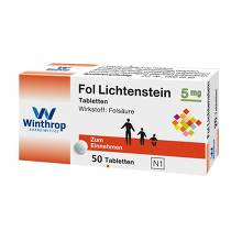 Fol Lichtenstein 5 mg Tabletten
