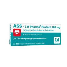 ASS 1A Pharma Protect 100 mg Tabletten