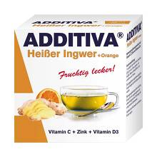 Additiva Heißer Ingwer + Orange Pulver