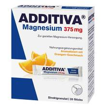 Additiva Magnesium 375 mg Sticks Orange