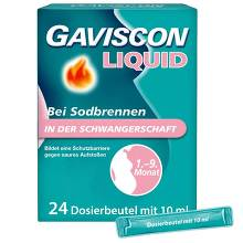 Gaviscon Liquid 500 mg / 267 mg / 160 mg Suspension zum Einnehmen