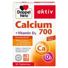 Doppelherz Calcium 700 + Vitamin D3 Tabletten