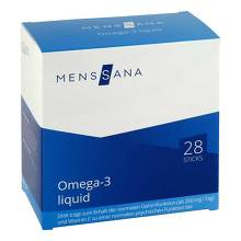 Omega 3 liquid Menssana Sticks