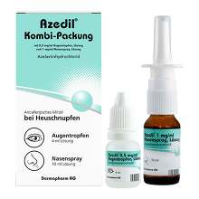 Azedil Kombi-Packung 0,5mg / ml AT 1mg / ml Nasenspray