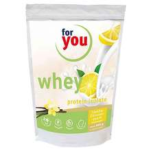 For You whey protein isolate recovery Vanille-Zit.