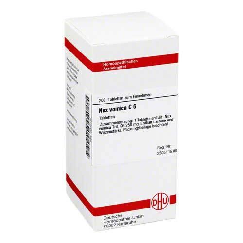 DHU Nux vomica C 6 Tabletten