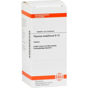 DHU Titanium metallicum D 12 Tabletten