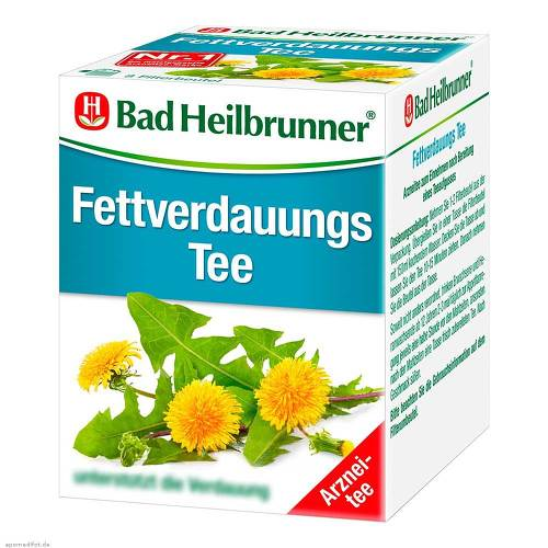 Bad Heilbrunner Tee Fettverdauung Filterbeutel